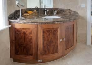Curved Bathroom Vanity Unit Corner Bathroom Vanity Bathroom Designs Ideas