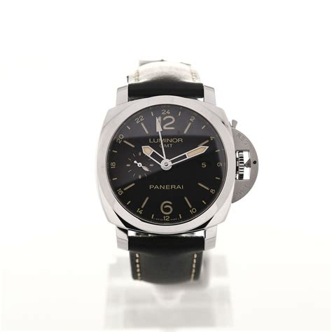 Luminor Panerai Gmt Leather panerai luminor uhr pam00531 kaufen montredo