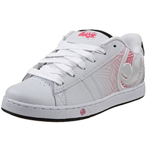 dvs s vendetta skate shoe white leather