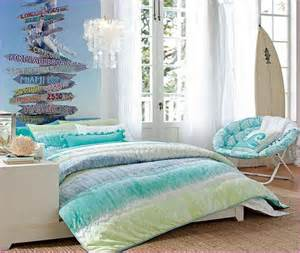 Beach themed bedrooms for teenage girls home design ideas