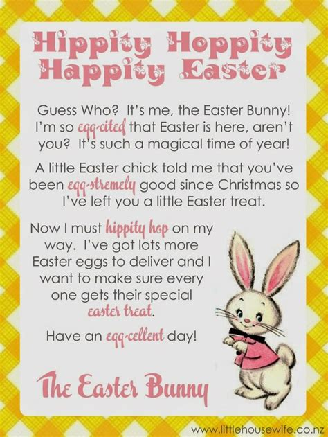 letter to easter bunny template 10 best images about easter bunny letters on