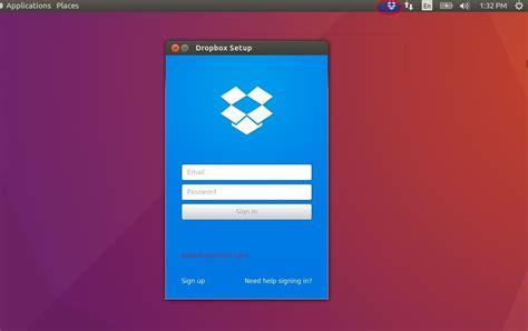 dropbox ubuntu top 10 task to do after installing ubuntu 16 04 lts