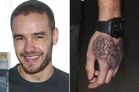 liam payne hand tattoo liam payne flashes new tattoodo
