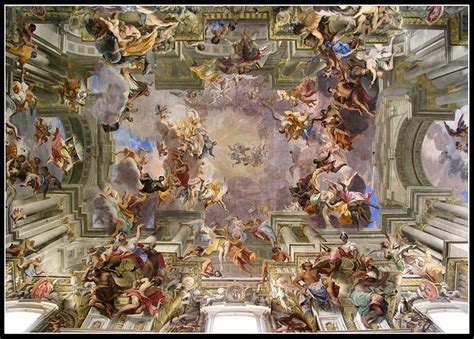 Who Began The Tradition Of Illusionistic Ceiling Painting by San Ignazio Church Rome Churches