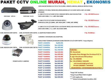 Paket Cctv 4ch4titik 1 paket cctv dvr harga murah perbandingan kamera cctv low resolution 420tvl vs high