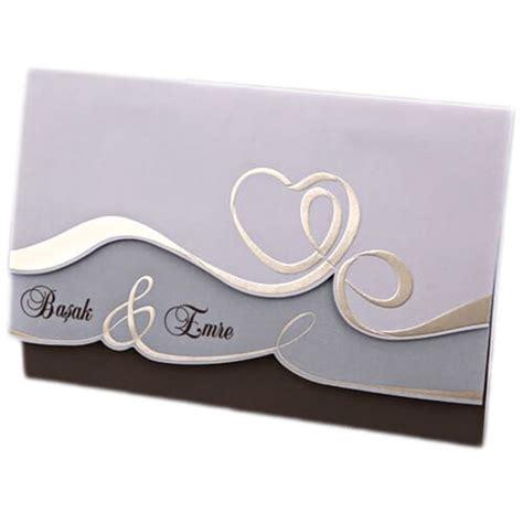 Hochzeitseinladungen Beschriften hochzeitseinladung quot nara quot hochzeitskarte mit herz