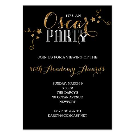 oscar night invitations cards on pingg com