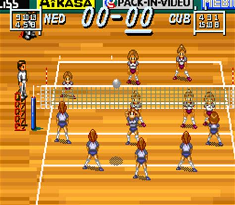 emuparadise how to play multi play volleyball japan rom