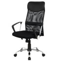 Small Black Desk With Chair Modern Ergonomic Mesh High Back Executive Computer Desk