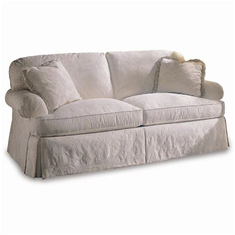design your own sofa sherrill design your own 9623pkd sofa with pleated rolled