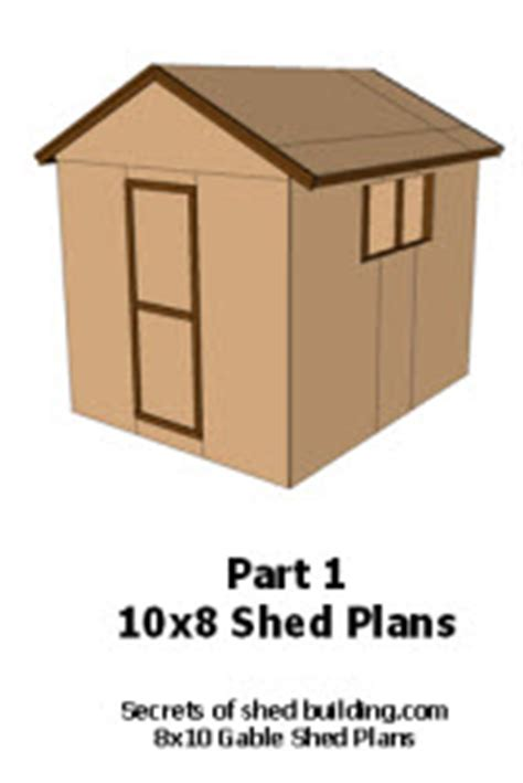 Shed Plans 10 X 8 by Today Plans To Build A 10x8 Shed Haddi