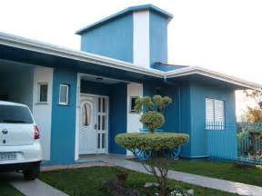 cores externa de casas tinta e textura construdeia