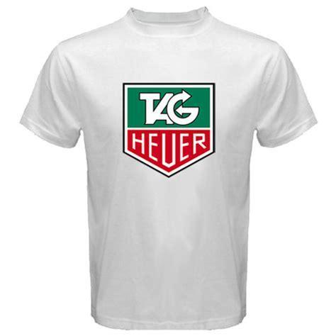T Shirt Tag Heuer 1 2 White Broy new tag heuer f1 logo monaco grande swiss white t