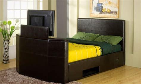 Tv Storage Bed Frame Bed Frames With Tv Storage Best Storage Design 2017