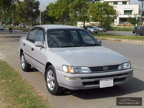 manual cars for sale 1995 toyota corolla instrument cluster toyota corolla 1995 for sale in islamabad pakwheels