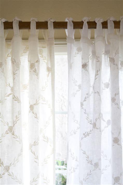 cream linen drapes trellis cream curtain panel linen voile 42 quot x84