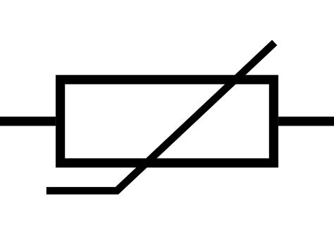 thermistor resistor symbol original file svg file nominally 45 215 32 pixels file size 1 kb