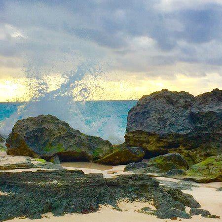 warwick long bay beach (warwick parish, bermuda): updated