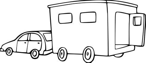 Coloriage Voiture Et Caravane 224 Imprimer