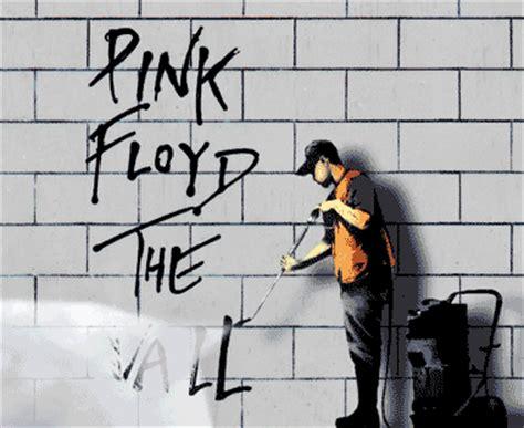 gambar format gif keren karya seniman mural banksy jika tersaji dalam gambar gif