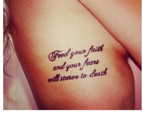 quote tattoos on ribs quote on ribs tattoos