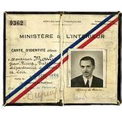 Faux Papiers D'identit&233 De Jean Moulin Au Nom Joseph
