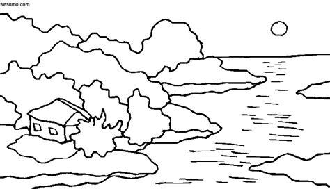 imagenes naturales para colorear im 225 genes para colorear de lagos y lagunas banco de