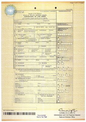 nso birth certificate change letter nso delivery how to get your nso birth certificate fast