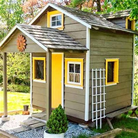 sheds and playhouses tiny green cabins tabulous design from storage to stylish