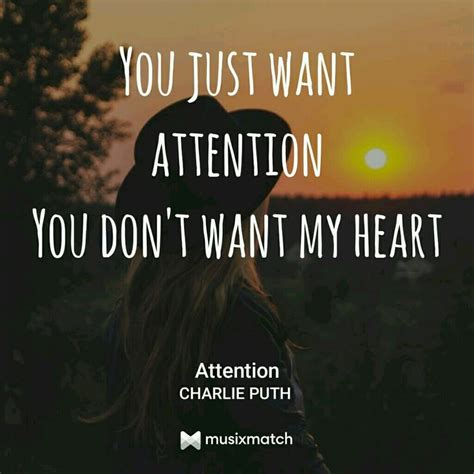 charlie puth attention lyrics 18 best canciones images on pinterest songs music and