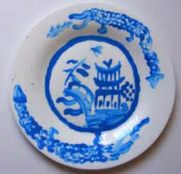 Willow Pattern Plate Craft