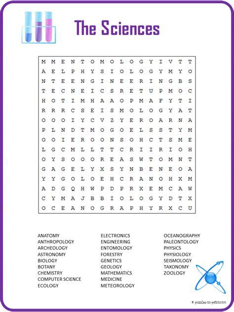 printable word search evolution free printable science word search science words word
