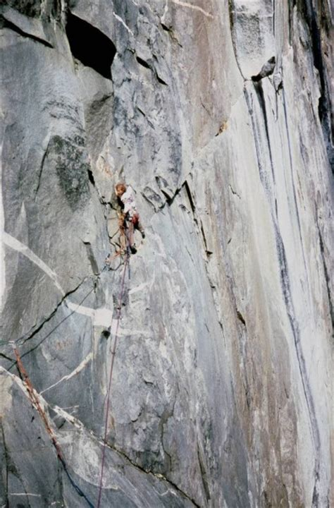 Miller Always Falls For Leading by Bircheff Climbing Pics Yosemite 70s Trip Report