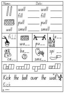 activity sheet double consonant ll click to download