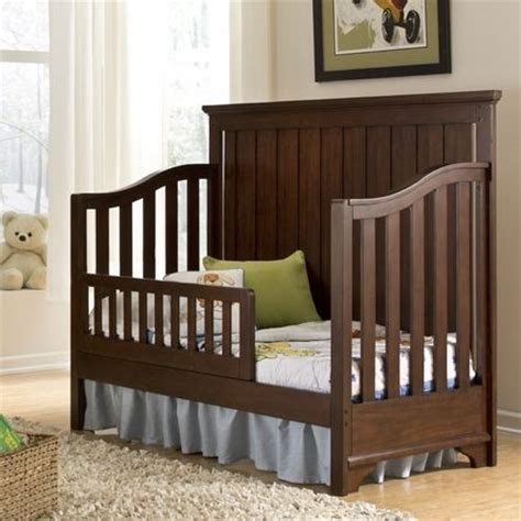 Crib Turns Into Bed Convertible Crib Toddler Bed Masons And Beds
