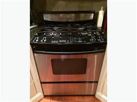 kitchenaid superba stainless steel gas convection stove