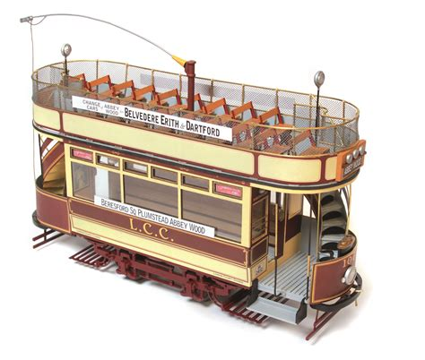 occre london double decker tram l c c 106 model kit