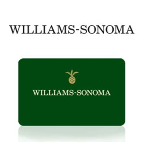 Williams And Sonoma Gift Card - buy williams sonoma gift cards at giftcertificates com