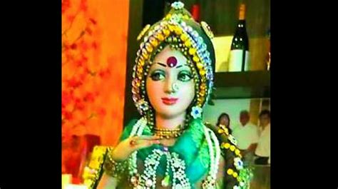 sridevi religion sridevi s iconic status just got a boost with a doll in