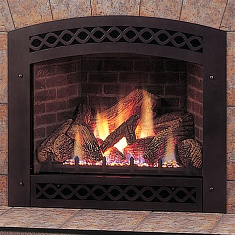 gas log fireplace blower fireplaces