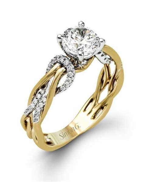 Gold Jewellery Wedding Ring Designs by Gold Engagement Rings