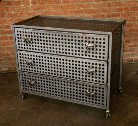 Industrial Metal Bin Cabinets Archives Hudson Goods Blog Metal Bedroom Dresser