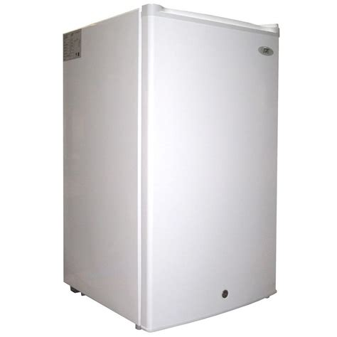 spt 3 0 cu ft upright freezer in white uf 304w the