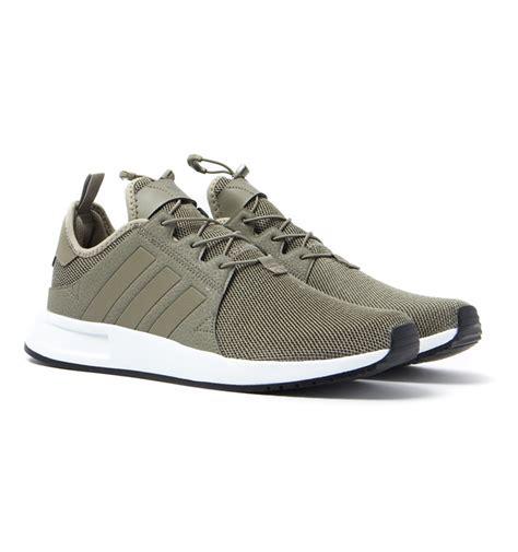 adidas adidas originals x plr green mesh trainers green trainers