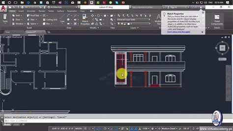 autocad tutorial house design elevation how to making elevation in autocad house elevation