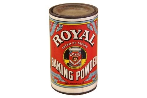 Home Decor Buddha by Vintage Royal Baking Powder Can Omero Home