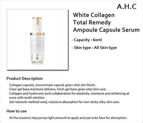 A H C Premium Hydra B5 Toner 120ml a h c ahc white collagen oul capsule serum 50ml