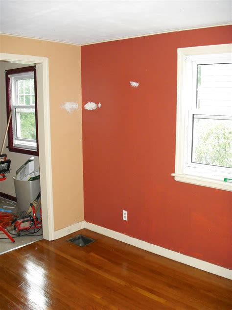 Design For Burnt Orange Paint Colors Ideas Living Room Orange Accent Wall Living Room Decorating Design Ideas Glubdubs