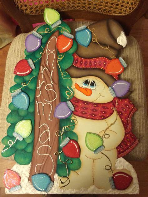 imagenes navidad country estaca navide 241 a mu 241 eco de nieve madera country