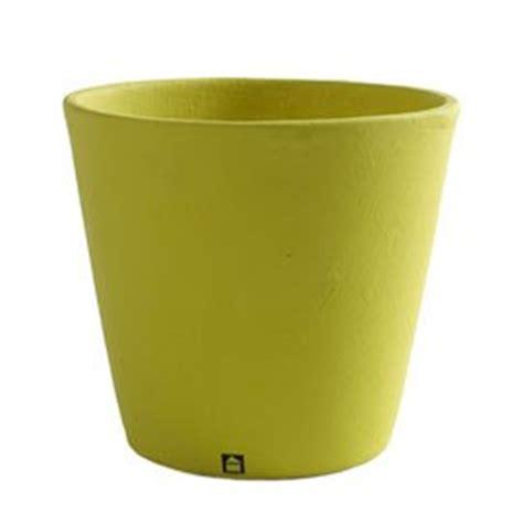 Ceramic Garden Plant Pots Serax Lime Large Ceramic Flower Pot D17 X H17cm Home And